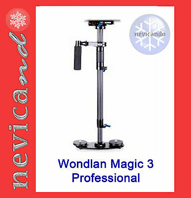 Wondlan Magic 3  Piastra + Borsa    Steadicam Steadycam Stedicam Flycam 5000 HD
