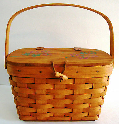 Longaberger Sewing Basket For Sale Classifieds
