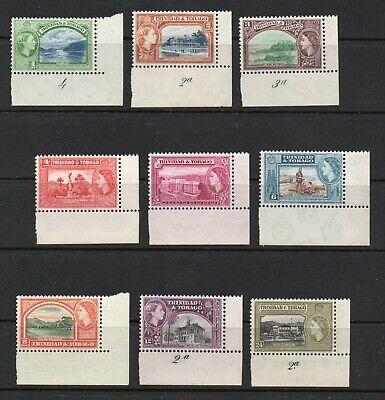 Trinidad & Tobago  -  SG# 267 - 275 Plate # Singles   -    Lot 0721148