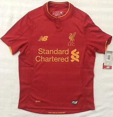 d6655d8ab9b274 New Balance Liverpool Youth Jersey Youth Size M