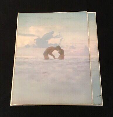 Vintage Water Themed 3 Ring Binder Folder