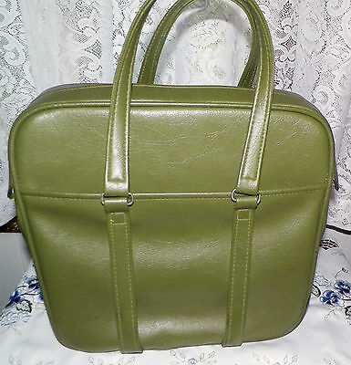 VINTAGE 1960'S SAMSONITE  SILOUETTE  AVACODO  CARRY ON