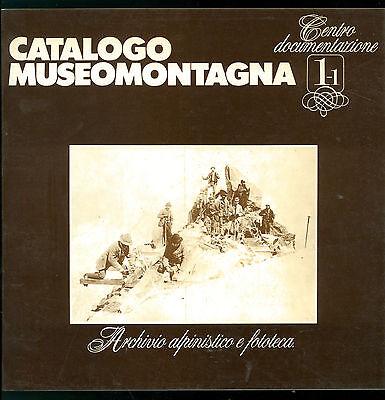 AUDISIO ALDO CATALOGO MUSEOMONTAGNA 1.1 ARCHIVIO ALPINISTICO FOTOTECA 1980