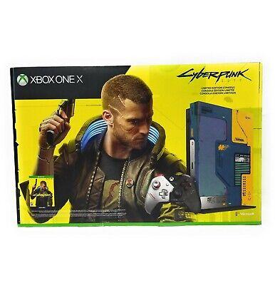 Microsoft XBOX One X 1TB Console Cyberpunk 2077 LE Limited Edition Bundle New