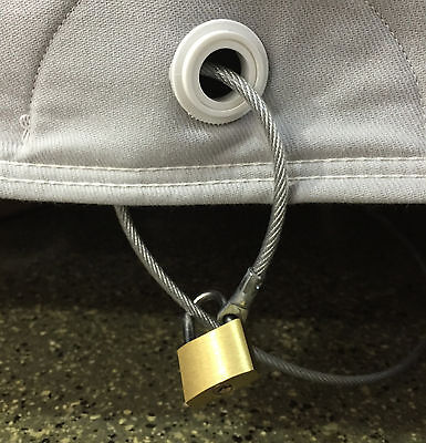 California Car Cover Cable & Lock: Cover Theft Deterrent Security Kit ()