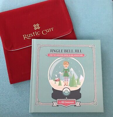 Jingle Bell Jill Christmas Book Collector Item From Rustic Cuff New w Dust Cover