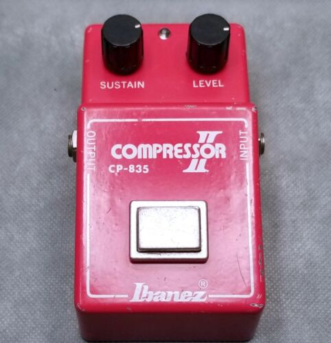 VTG RARE IBANEZ COMPRESSOR II CP-835 FOOT PEDAL VERY NICE CONDITION/TESTED