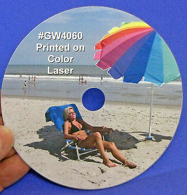 Cd Dvd Blu-ray Full Face Laser Gloss Disc Labels 50 Sheets 100 Labels 2up Gw4060