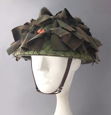 North Vietnamese  Sniper  Jungle  Camouflage  Helmet  At  Vietnam War