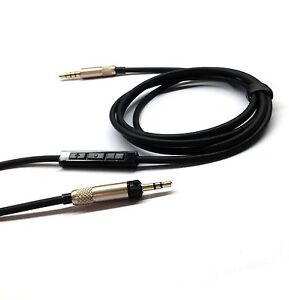 Replacement-cable-with-Remote-Mic-connect-iphone-to-Sennheiser-HD598-HD558-HD518