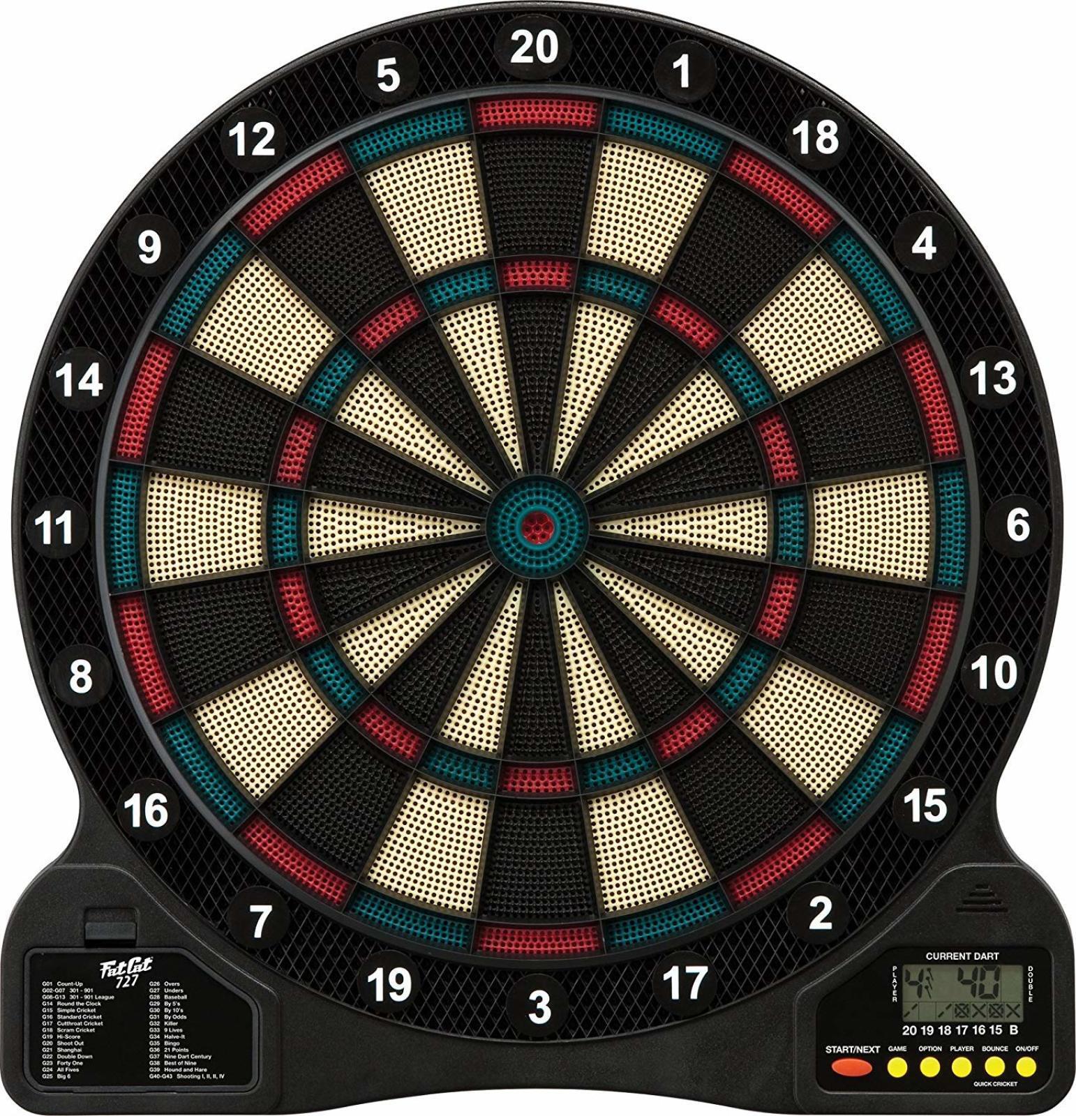 18 Game Electronic Dart Board Soft Tip Dart board Game Digital Dartboard Machine 719265534099  eBay