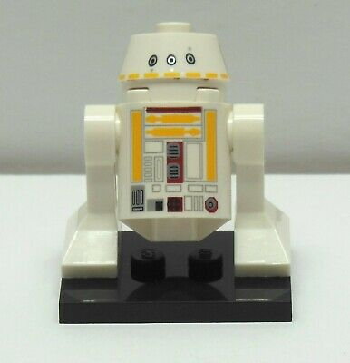 LEGO STAR WARS R5-F7 Gold Leader Y-Wing Droid Christmas Minifigure 75023 9495