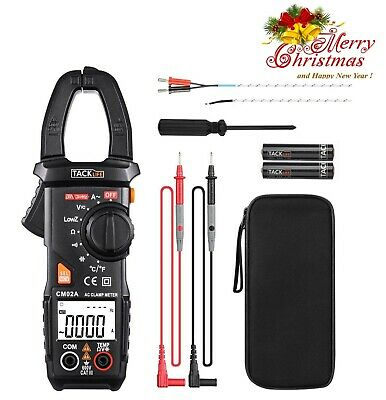 New Tester Dc Voltage Rms Amp True Test Clamp Digital Meter Ac Multimeter