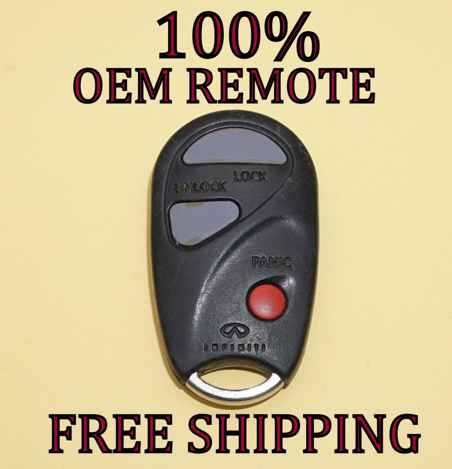 Buy Used Keyless Entry Remotes Fobs Page 75 Remote For Infiniti Q45 Starter 100 Oem 1999 2000 Qx4 Fob Transmitter Kbrastu09