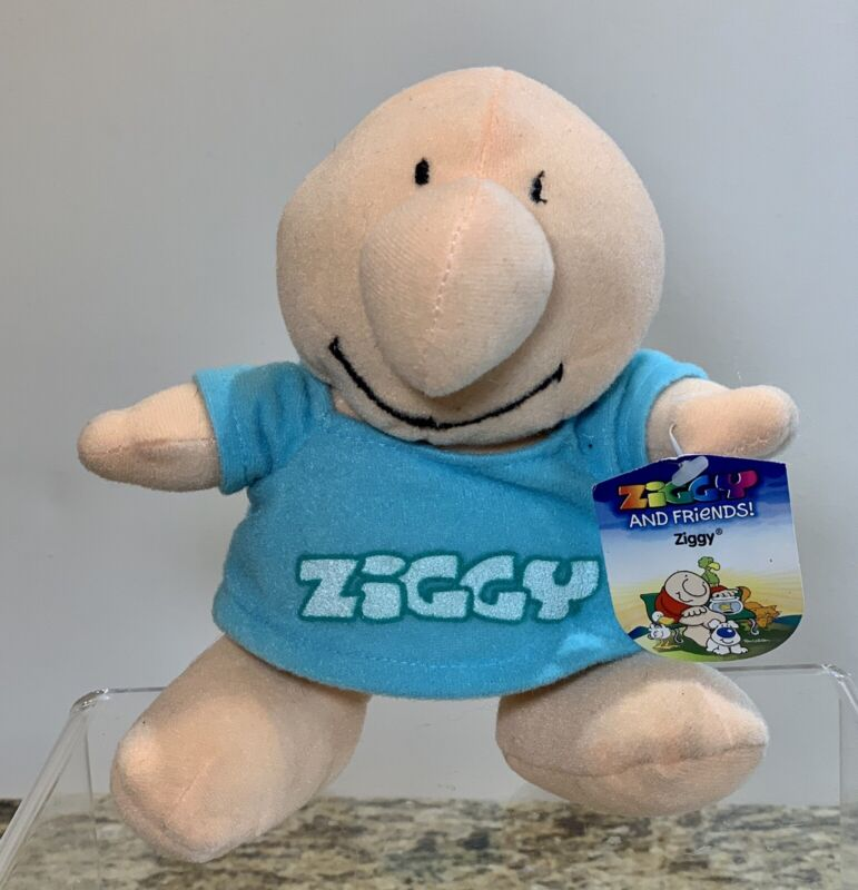 2006 ZIGGY And Friends Original Plush Stuffed Toy NWT Collectible