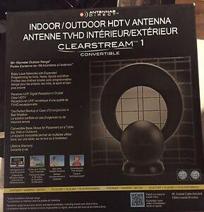 Indoor/outdoor antenna Clearstream 1 Kitchener / Waterloo Kitchener Area image 1
