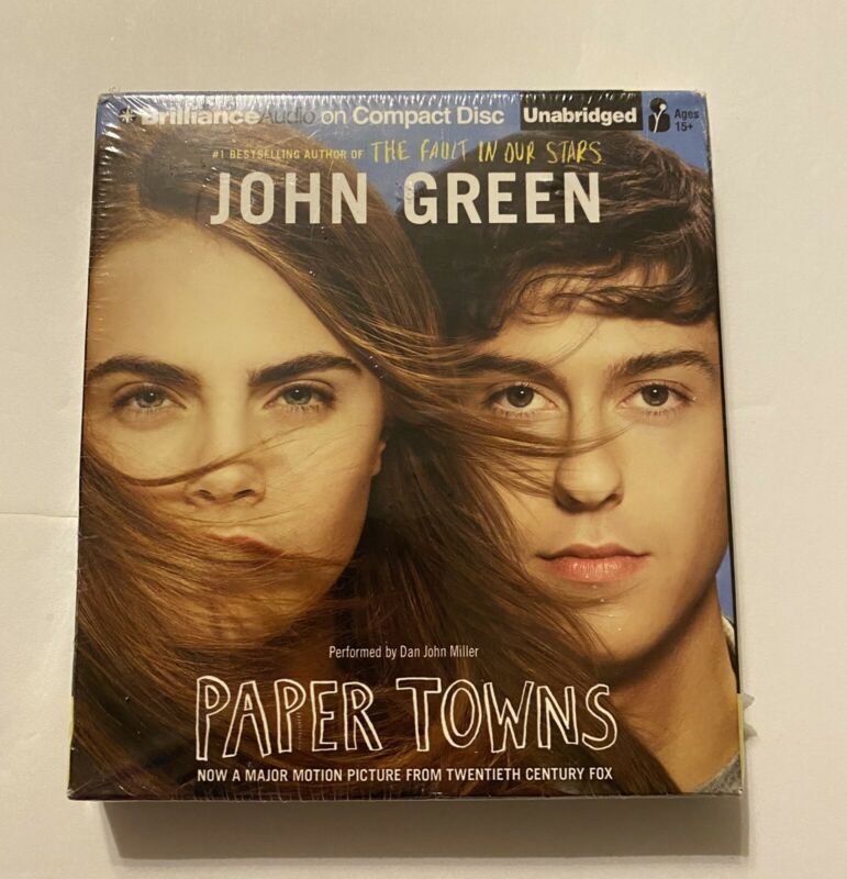 PAPER TOWNS by JOHN GREEN -- UNABRIDGED 7 CDs -- 8 HOURS