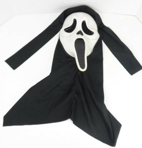 Vintage Scream Ghost Face Mask Fun World Easter Unlimited S9206 Glows