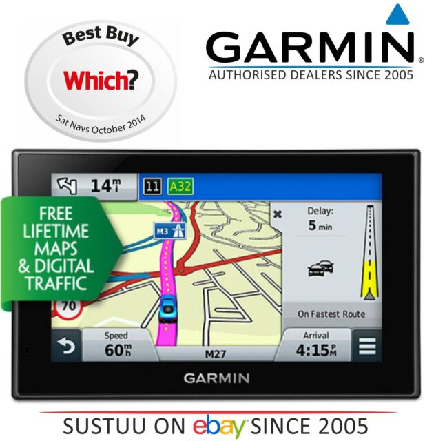 Garmin Nuvi Lmt D E   Gps Satnav E  Foursquare E  Lifetime Uk Europe Maps Traffics
