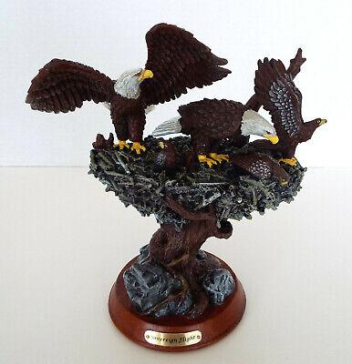 Bald Eagle Figurine Bradford Sovereign Flight Protectors Of The Nest Ltd Edition Collectible Eagle Figurine