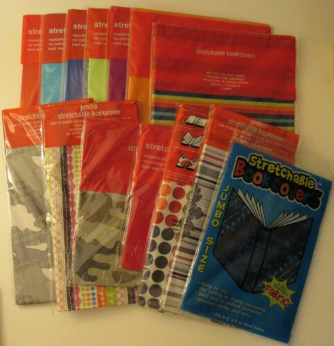 Stretchable Fabric Book Covers