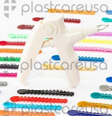 Ligature Gun 1040 Bands Kit For Orthodontic Dental Teeth Braces Brackets Usa
