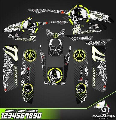 yamaha warrior 350 decals graphics stickers full kit (Atv Graphics)