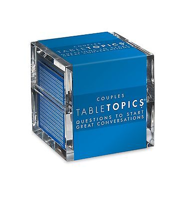 Tabletopics Couples  Questions To Start Great Conversations Free Shipping