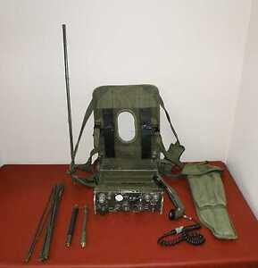Vietnam-War-Portable-Radio-PRC-77-Version-Backpacks-Full-Set-PRC77-TESTED