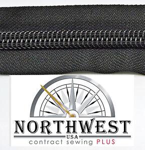 Genuine YKK Nylon Coil Zipper Tape # 10  By the yard