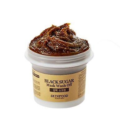 [SKINFOOD] NEW Black Sugar Mask Wash Off 100g - Korea Cosmetic