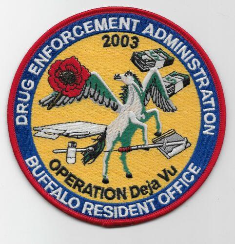 Colorful DEA Narcotics Operation Deja VU Police Sheriff State NJ