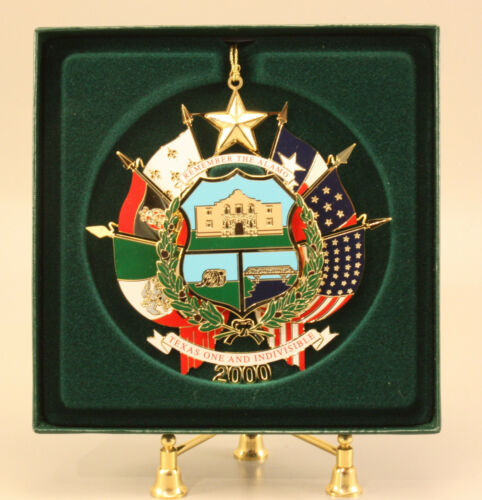 2000 TEXAS CAPITOL ORNAMENT - NIB WITH PAMPHLET