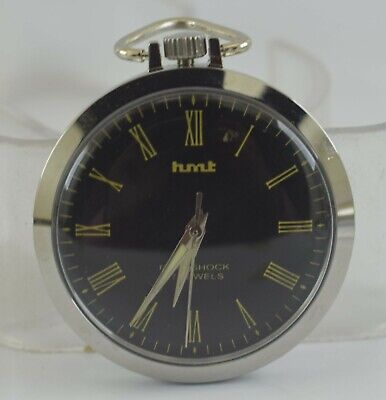 Vintage HMT 17Jewels Winding Pocket Watch For Unisex Use Working Good D-264-17