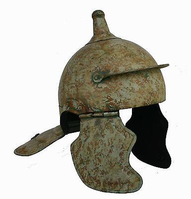 Römerhelm Legionär Ritterhelm Lorica Reenactment sca Mittelalter  Rüstung RM02