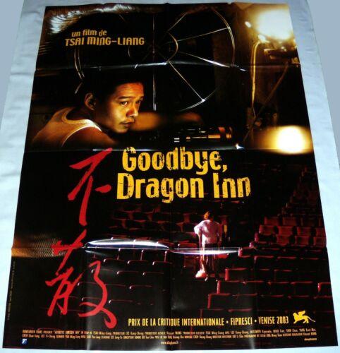 GOODBYE DRAGON iNN 不散 Taiwan 李康生 Tsai Ming-liang 蔡明亮 LARGE french POSTER