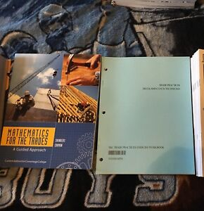 Conestoga College Motive Power Textbooks