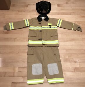 (5-6) Costume d'Halloween pompier / firefighter fireman costume