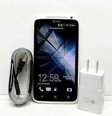 HTC One X PJ46100 White 16gb Atnt Unlocked  Android WIFI 4G Excellent Condition