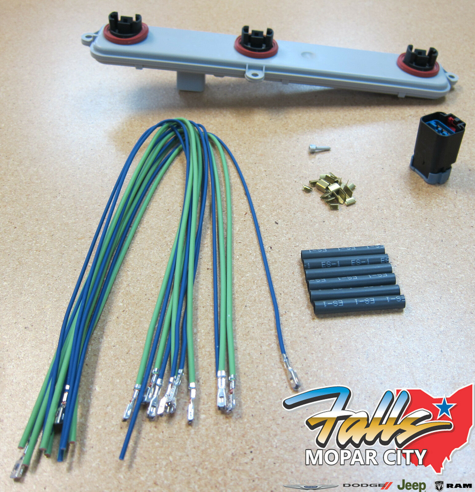 2002-2006 Dodge Ram 1500 Tail Light Wiring Harness & Socket ...