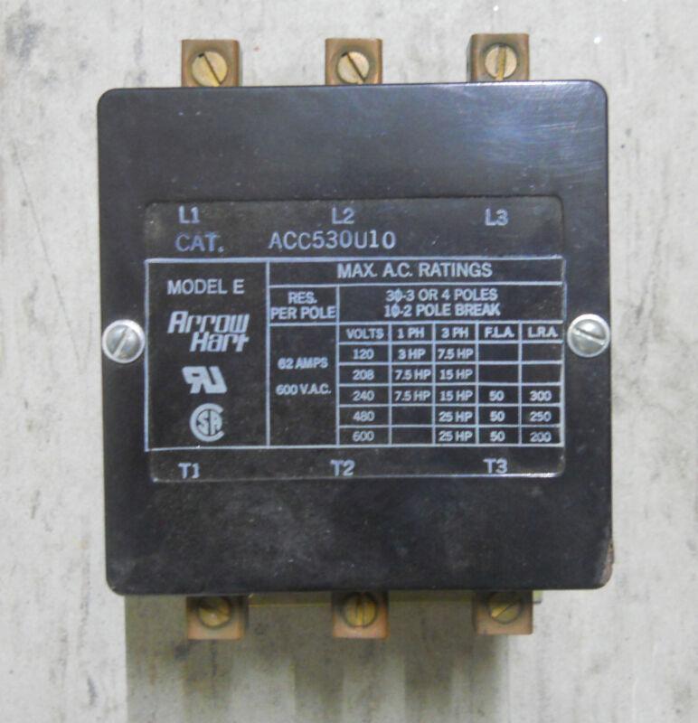 ARROW HART CONTACTOR ACC530U10