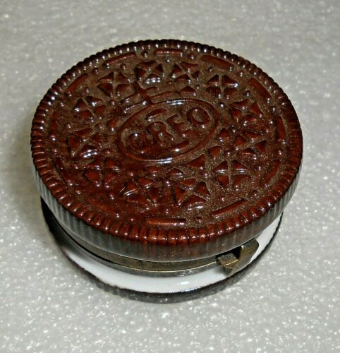 Oreo Cookie Hinged Trinket Box w Miniature Wafer Midwest of Canon Falls