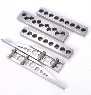Precision Machinist Hardened Steel Set Up Parallel Block 5 Pcs Set