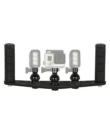 Staffa subacquea supporto GoPro e torcia KNOG Qudos Action Cam FLEX-ARM ST20122