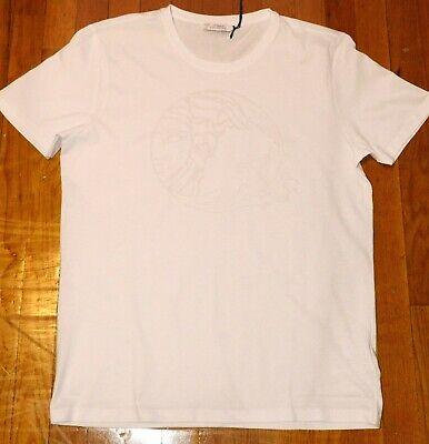Versace Collection Men's White Medusa Slim Fit T-Shirt X-Large