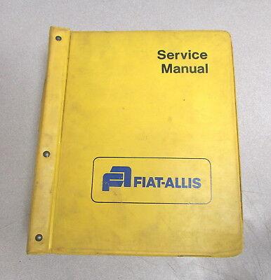 Fiat-allis 260 261 Scraper Service Repair Manual Set