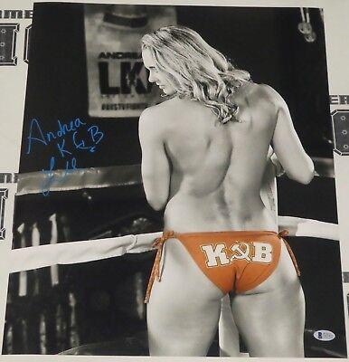 Andrea KGB Lee Signed 16x20 Photo BAS Beckett COA UFC LFA Invicta FC Autograph 2