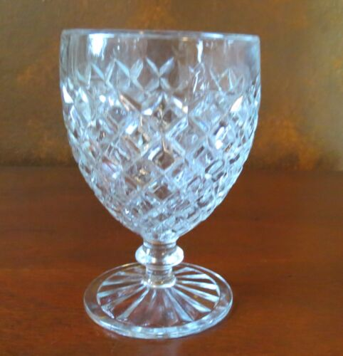 "Anchor Hocking Waterford Waffle 5 ¼"" Water Goblet(s)"