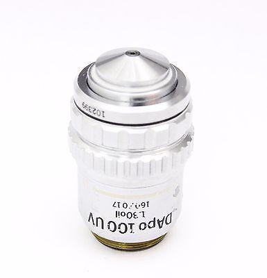 Olympus D Apo Uv 100x 1.30 Oil 160mm Microscope Objective Iris Bh2 Ch2