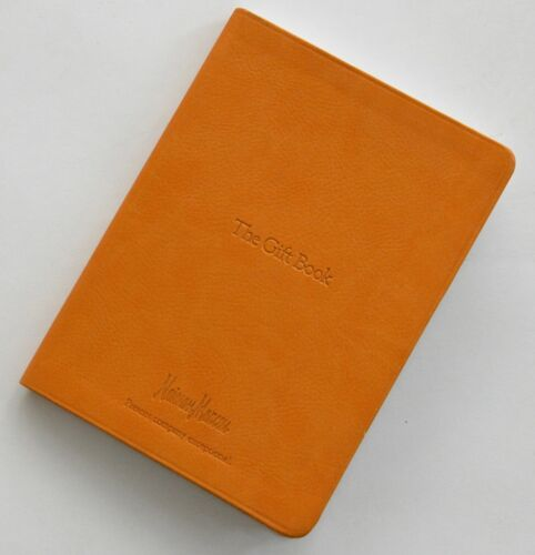 Vtg Neiman Marcus Leather Gift Book Journal